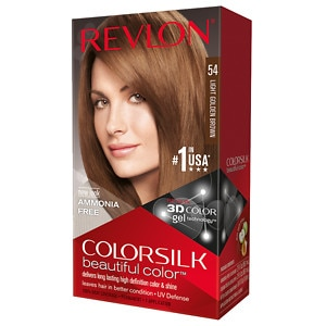 Revlon Colorsilk Beautiful Revlon Luxurious Colorsilk Buttercream Light Golden Brown