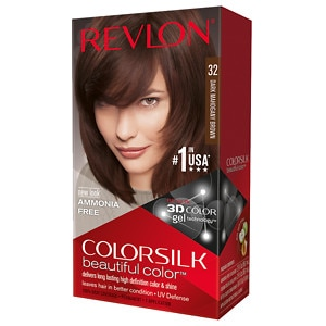 Revlon Colorsilk Beautiful Color, Dark Mahogany Brown 32- 1 ea