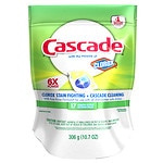 Cascade ActionPacs With The Power Of Clorox Dishwasher Detergent, Lemon Burst- 17 Each