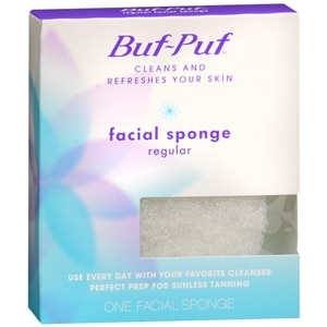 Buf-Puf Facial Sponge, Regular