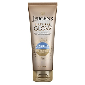 Jergens Natural Glow Firming Daily Moisturizer, Fair to Medium Skin Tone
