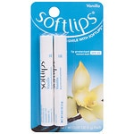 Softlips Lip Protectant/Sunscreen SPF 20, Value Pack, Vanilla
