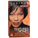 Clairol Textures & Tones Hair Color, Natural Black 1N