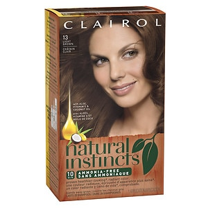 Clairol Natural Instincts Semi-Permanent Hair Color, 13/6 Light Brown- 1 ea