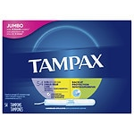 Tampax Tampons with Cardboard Applicator, MultiPax, 54 ea- 1 pack