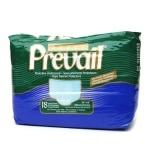 Prevail Super Protective Underwear, Medium, For Women and Men- 18 ea
