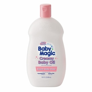 Baby Magic Creamy Baby Oil, Sweet Baby Rose