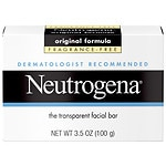 Neutrogena Transparent Facial Bar Soap, Face Wash & Cleanser,