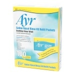 Ayr Saline Nasal Rinse Kit Refill Packets