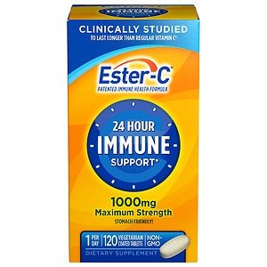 Ester C Vitamin C 1000mg- 120 coated tablets