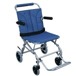 Drive Medical Super Light Folding Transport Wheelchair with Carry