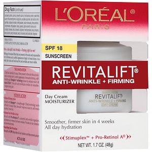 L'Oreal Paris Revitalift Complete Day Cream, Anti-Wrinkle & Firming Moisturizer