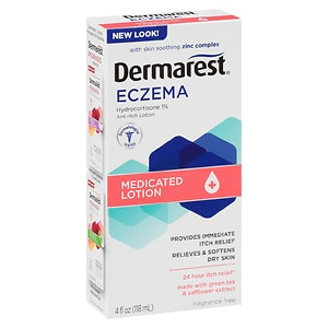 Dermarest Eczema Medicated Lotion, Fragrance Free