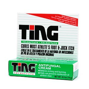 Ting Athlete's Foot and Jock Itch Cream- .5 oz