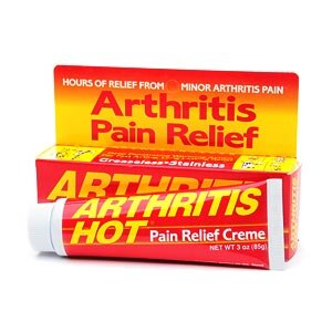 Arthritis Hot Deep Penetrating Pain Relief Creme- 3 oz