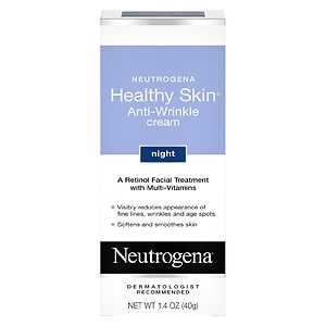 Neutrogena Healthy Skin Anti-Wrinkle Cream, Night Formula- 1.4 oz