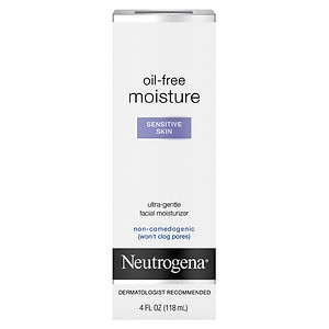 Neutrogena Oil Free Moisture, Sensitive Skin