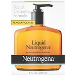Neutrogena Liquid Neutrogena Facial Cleansing Formula, Fragrance Free- 8 fl oz