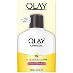 Olay Complete All Day UV Skin Shield Moisturizer Lotion SPF 15, Normal- 6 fl oz