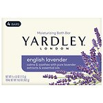 Yardley of London Moisturizing Bars, 4.25 oz, English lavender