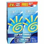 Complete by AMO Multi-Purpose Solution, Twin Pack 12 fl oz Bottles