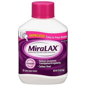 MiraLAX Laxative, Powder For Solution- 17.9 oz