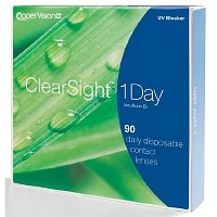 ClearSight (Biomedics) 1 Day 90 pk Contact Lens- 90 lenses per Box