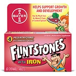 Flintstones Children's Multivitamin with Iron, Orange- 60 ea