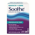 Soothe Lubricant Eye Drops, Preservative Free