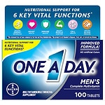 One A Day Men's Health Formula Tablets- 100 ea