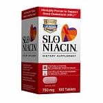 Slo-Niacin Polygel Controlled-Release Niacin, 750mg, Tablets- 100 ea