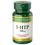 Nature's Bounty 5-HTP 100mg, Capsules- 60 ea