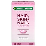 Nature's Bounty Optimal Solutions Hair, Skin & Nails, Tablets