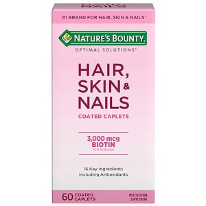 Nature's Bounty Optimal Solutions Hair, Skin & Nails, Tablets- 60 ea