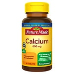Nature Made Calcium with Vitamin D, 600mg, Tablets- 60 ea