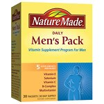 Nature Made Daily Men's Pack, Vitamin Supplement for Men,