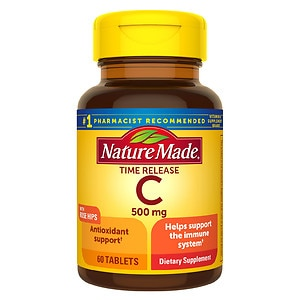 Nature Made Vitamin C, 500 mg, Tablets