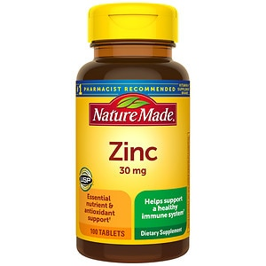 Nature Made Zinc, 30mg, Tablets