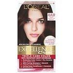 L'Oreal Paris Excellence Non-Drip Creme Haircolor, Dark Chocolate Brown 4AR Cooler- 1 ea