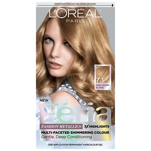 L'Oreal Paris Feria Permanent Haircolor, Golden Sunset 73