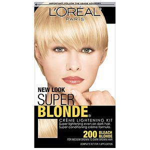 L'Oreal Paris SFX Super Blonde Creme Lightening Kit, Bleach Blonde