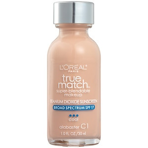 L'Oreal Paris True Match Foundation, Alabaster C1
