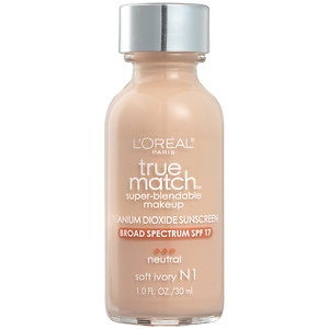 L'Oreal, L'Oreal Match Foundation, foundation, makeup