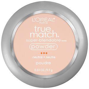 L'Oreal Paris True Match Super-Blendable Powder, Classic Ivory N2- .33 oz