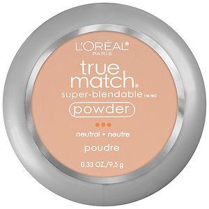 L'Oreal Paris True Match Super-Blendable Powder, Buff Beige N4- .33 oz