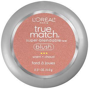 L'Oreal Paris True Match Super-Blendable Blush, Subtle Sable W5-6- .21 oz
