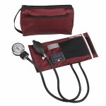 MatchMates Aneriod Sphygmomanometer Kit, Burgundy
