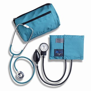 Mabis MatchMates Dual Head Stethoscope Combination Kit, Teal- 1 ea