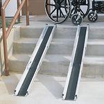 Duro-Med 5' Telescoping Adjustable Wheelchair Ramps