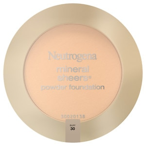 Neutrogena Mineral Sheers Powder Foundation, Buff 30- 1 ea
